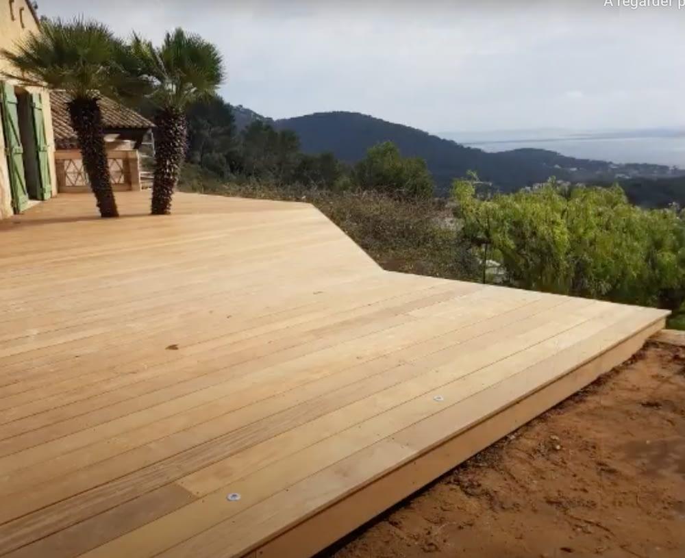pose de terrasse la farlède