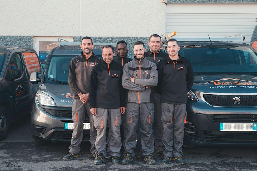 L'équipe de Bati Sur